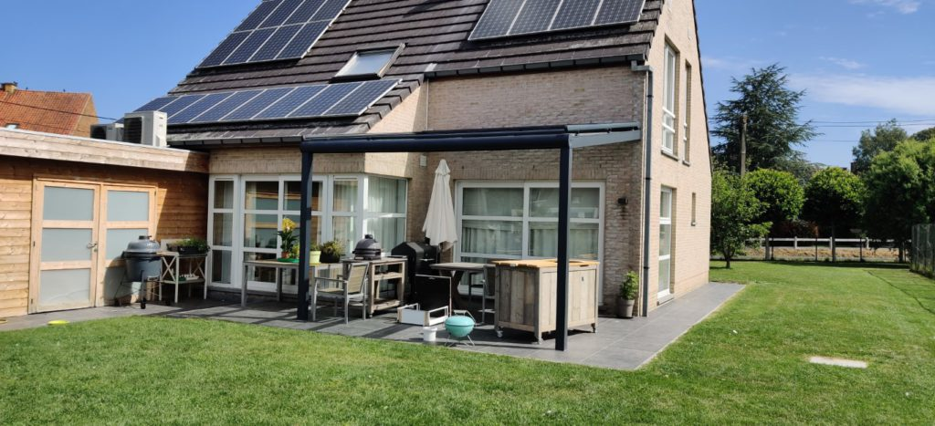 Terrasoverkapping en verandazonwering - Ronse